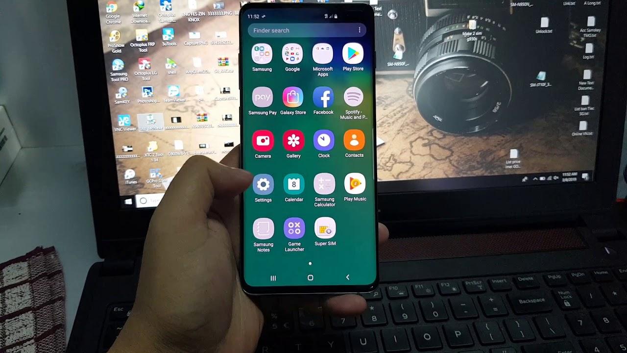 Repair New Imei Fix Imei Blocked Bad ESN Samsung Galaxy S10+ G975F G975FD  Exynos Success via USB