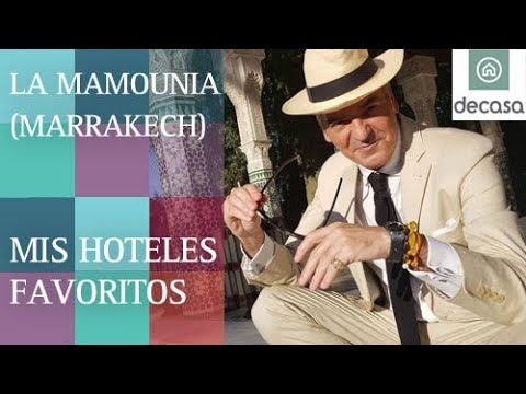 La Mamounia (World's most amazing hotels) Marrakech   Mis Hoteles Favoritos