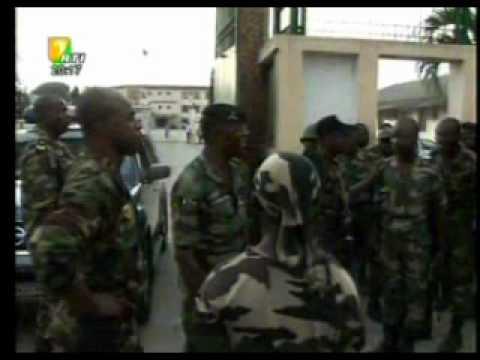Côte d'Ivoire:  Attaque rebelle repoussée au ministère de la défense