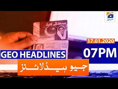 Geo Headlines 07