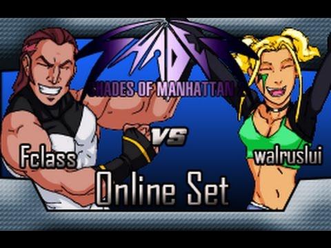 Mugen Online Set | TheFclass97 vs walruslui | Shades of Manhattan 2 (Online Matches)