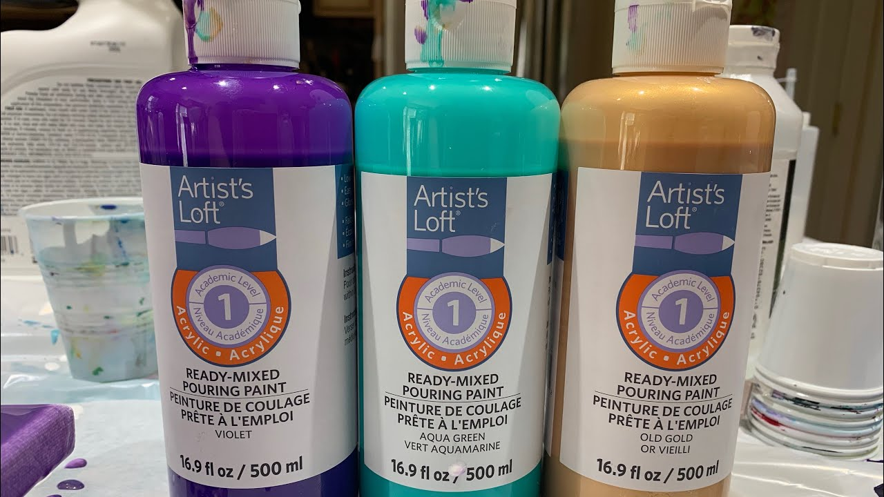 Artist Loft Ready Mixed Pouring Paint