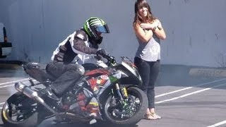 How To Pick Up Girls With A Motorcycle