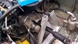 Subaru двигатель установлен на катер Амур(Двигатель от Субару Легаси 2,5л установлен на катер Амур с водометом., 2014-05-13T06:21:44.000Z)