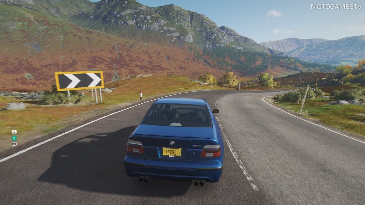 Forza Horizon 4 - 2003 BMW M5 E39 Gameplay