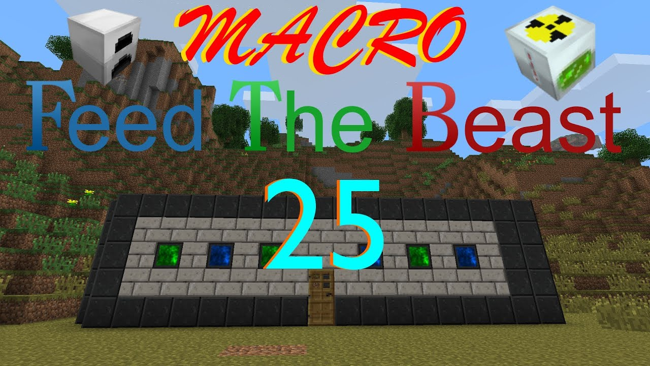 MACRO FTB S2 episode 25 - Minecraft Force Field of Tongue Twisters! (MFFS  Force Energy Crystal)