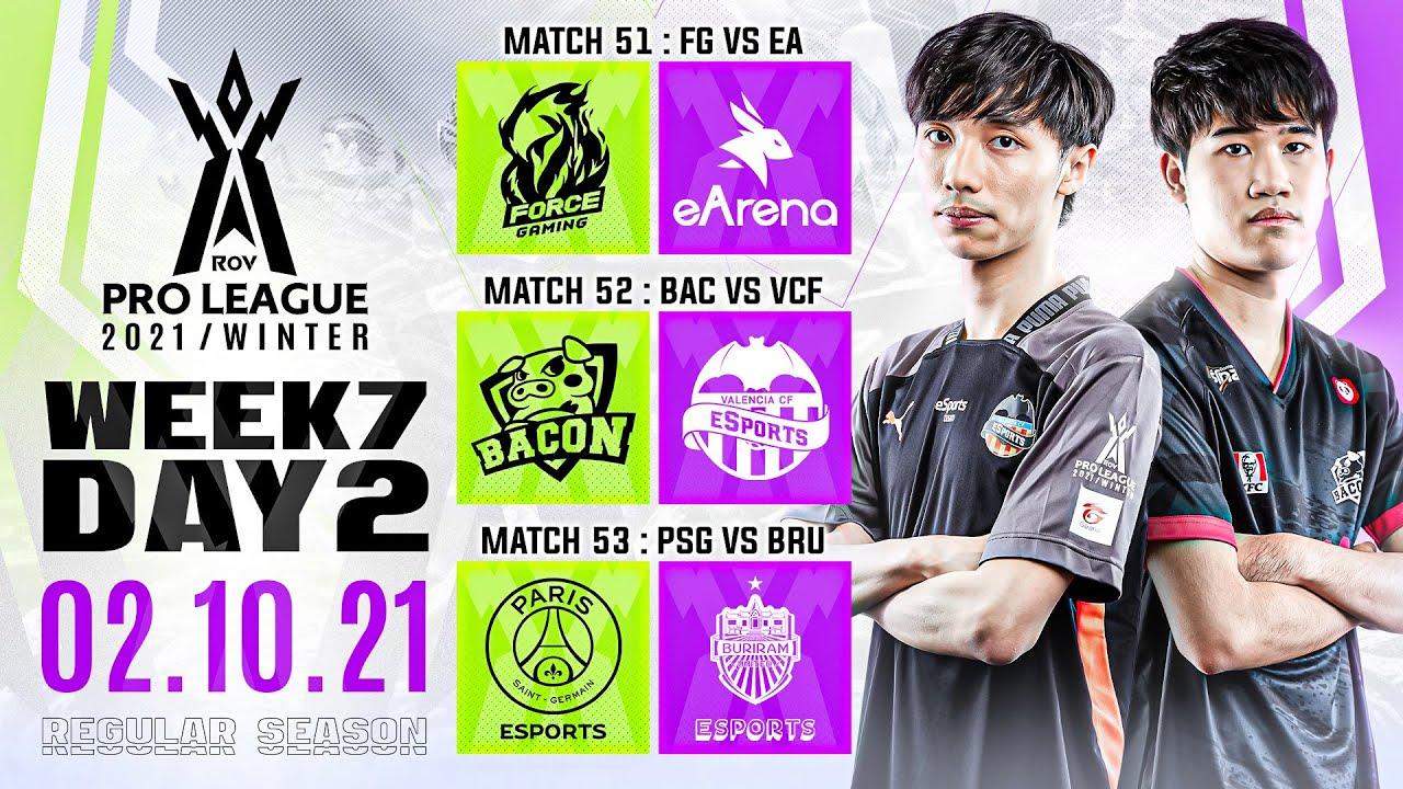 RoV Pro League 2021 Winter | Regular Season | Week 7 Day 2