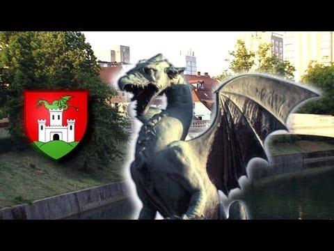 LIUBLIANA & BLED city tour.  Eslovenia (Ljubljana Slovenia Slovenija)  - Turismo travel  tourism
