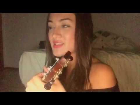 Gabi Melim cantando Não te quero mais