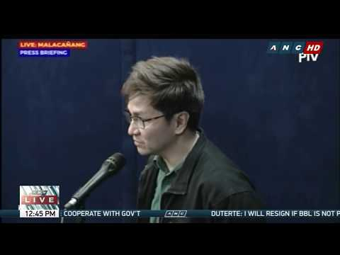 WATCH: Palace holds press briefing | 26 April 2018