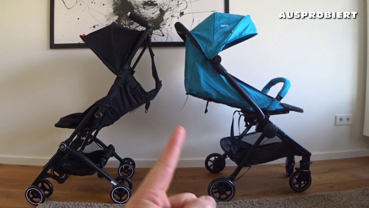 Cybex Buggy Liegeposition Test Joie Pact Lite Vs Gb Pockit Plus