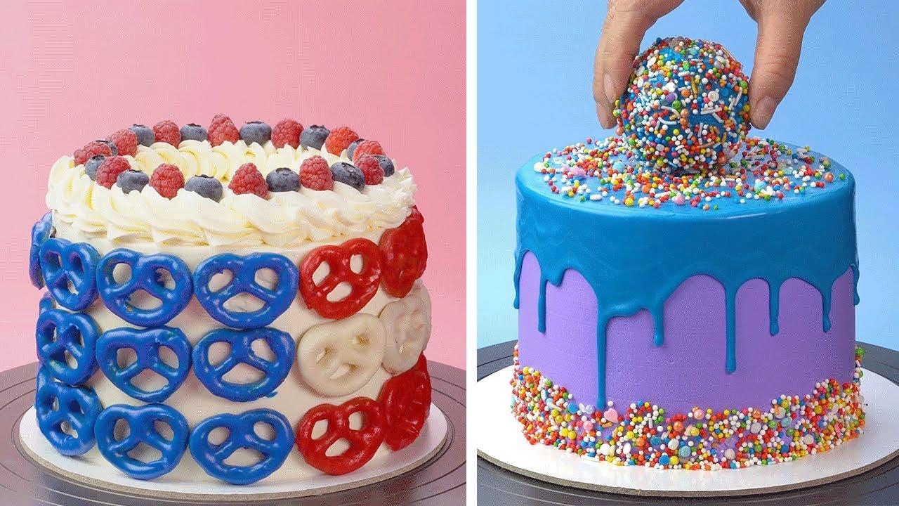 So Yummy Colorful Cake Decorating Recipes | Tasty Cake Ideas | Perfect Cake Recipes