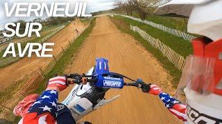 GoPro HERO 9 - Un ENTRAINEMENT à Verneuil sur Avre ! 125 YZ