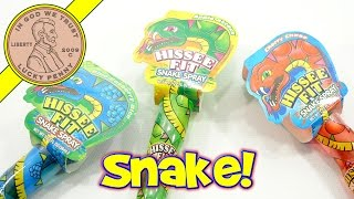 Hissee Fit Snake Spray Liquid Candy - Raspberry Bite, Cherry Chase & Apple Attack