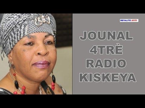 Jounal 4trè-Dènye nouvèl kap domine aktualite 04-07-2019 avèk Liliane Pierre Paul
