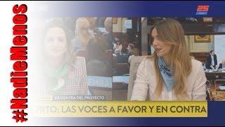 Panelistas pro muerte del niño por nacer no pueden contra Amalia Granata