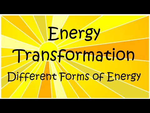 What Are The Different Forms Of Energy Energy