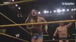 The Miz Vs CJ Parker NXT 1/29/14 (HQ)