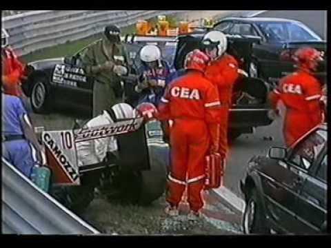 Image result for 1990 estoril caffi accident