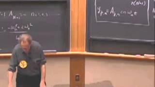 Lec 07: Coupled Oscillators, Transverse Traveling Pulses | 8.03 Vibrations and Waves (Walter Lewin)