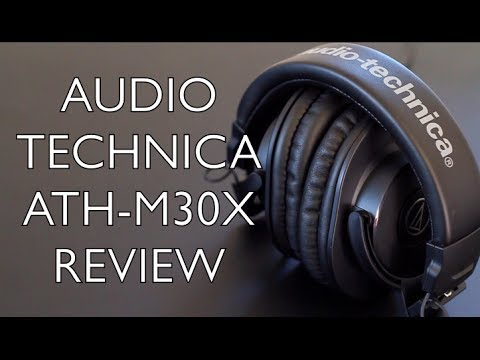 Audio Technica ATH-M30X Review - 2nd Most Popular M-Series Headphone?
