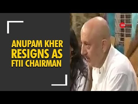 Anupam Kher resigns as FTII chairman due to commitment to international TV shows