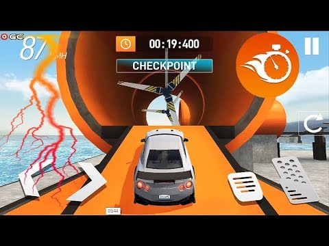 """Car Stunt Races - Mega Car Ramps Race """"S04"""" Android Gameplay Video"""