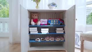 다용도 수납장 거실 장난감 정리함으로 추천