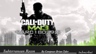 MW3 Soundtrack: Subterranean Recon