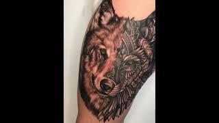 Tatto Di Paha |front Piece Tatto |thigh Tatto