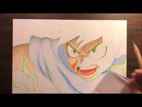 Speed Drawing IZUKU MIDORIYA (My Hero Academia)