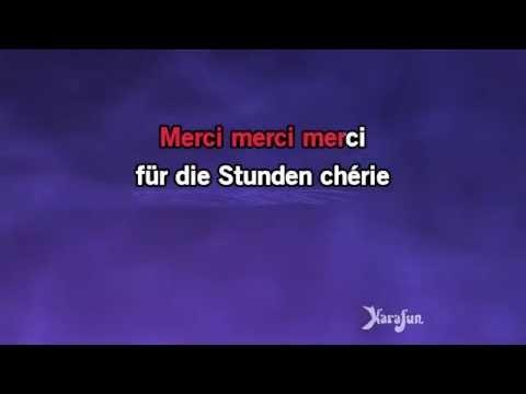 Karaoke Merci Chérie - Udo Jürgens *
