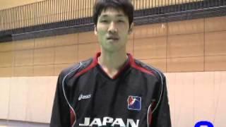 ハンドボール2008北京オリンピックアジア予選 日本代表 武田享(大同特殊鋼)