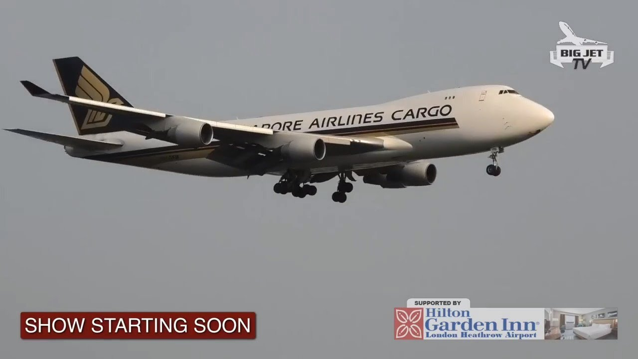 PLANESPOTTING LIVE from London Heathrow Airport - 25/7