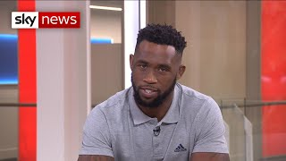 South Africa captain Siya Kolisi talks Rugby World Cup victory