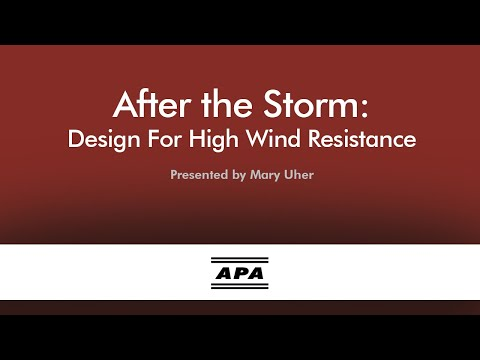 After the Storm: Building for High Wind Resistance