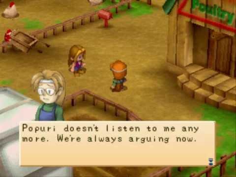 Harvest Moon: Back to Nature - Rivals Heart Event - Rick & Karen - Event#2