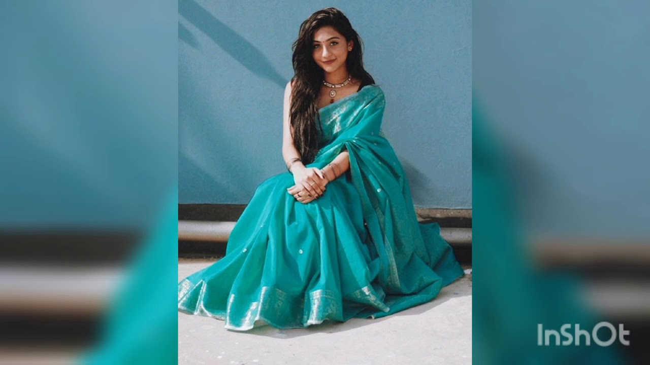 Download 20 Simple stylish Saree photography poses for girls/instragram, facebook DP photo poses