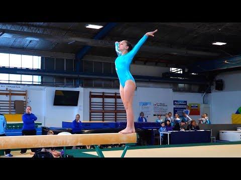 Lydia's Gymnastics Competition!