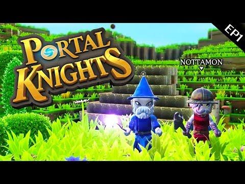 Portal Knights [EP1] : อัศวินเปิดวาร์ป...มายคราฟพี่ไม่เล่น!!