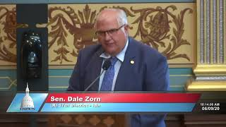 Sen. Zorn remembers fallen Animal Control Officer Darrian Young