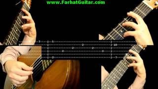 Cavatina - John Williams - Tab 2/6 www.FarhatGuitar.com