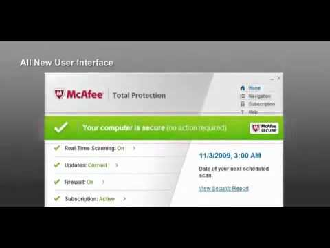 McAfee Total Protection 2011(Download link given in description box)
