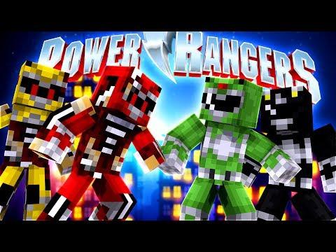 Minecraft POWER RANGERS - EVIL POWER RANGERS ARE TAKING OVER w/ Little Lizard, Ropo & Donut the Dog!