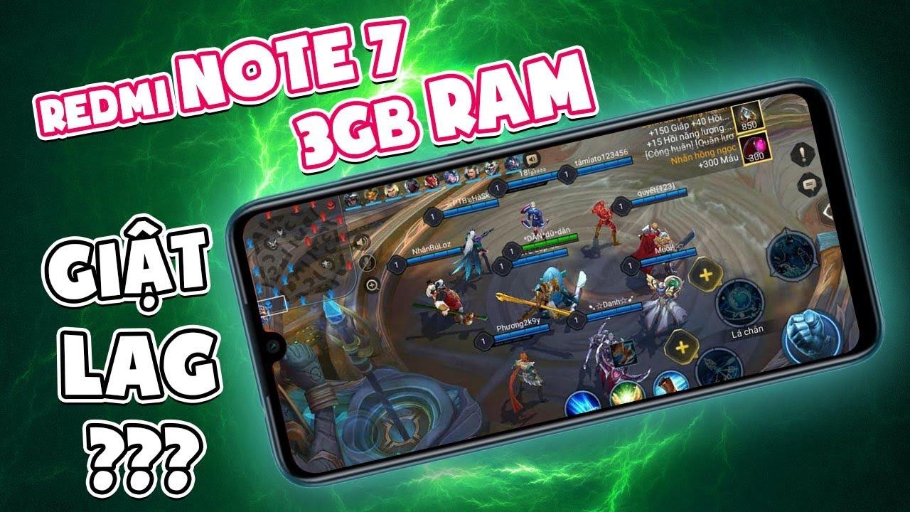 Redmi note 7 3GB RAM chiến Liên Quân 10v10 như thế nào?