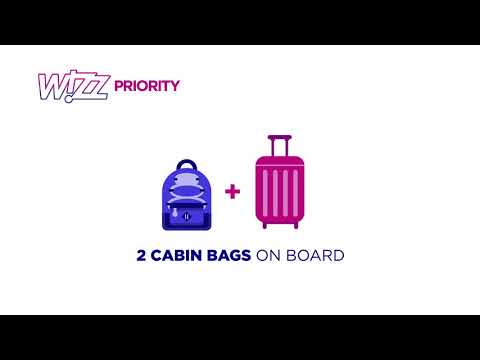 Wizz Air unveils new baggage policy