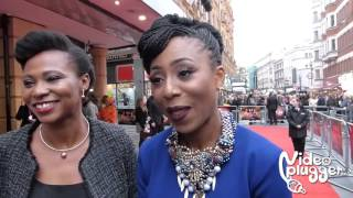 Movie Fifty interview with actress Dakore Akande and Nse Ikpe Etim at BFI LFF