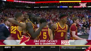 Iowa State vs Kansas Men's Basketball Highlights