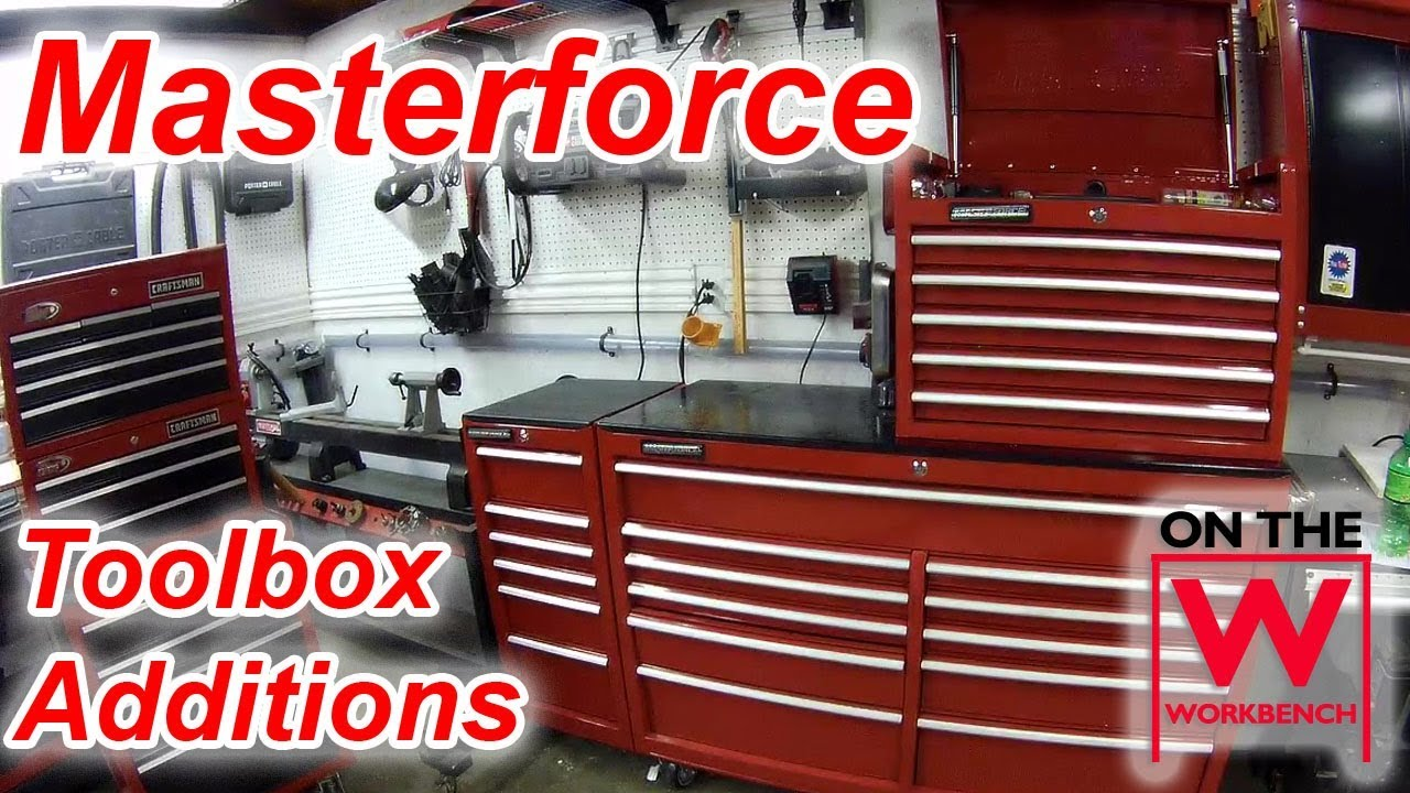 Masterforce Toolbox Additions Youtube