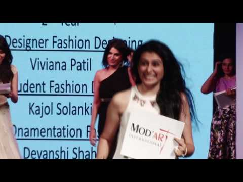 Mod'Art International Mumbai Fashion Show 2016   Part 7